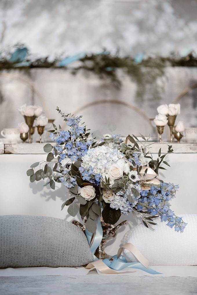 Romantic Icy Winter Wedding Inspiration Glamour Amp Grace