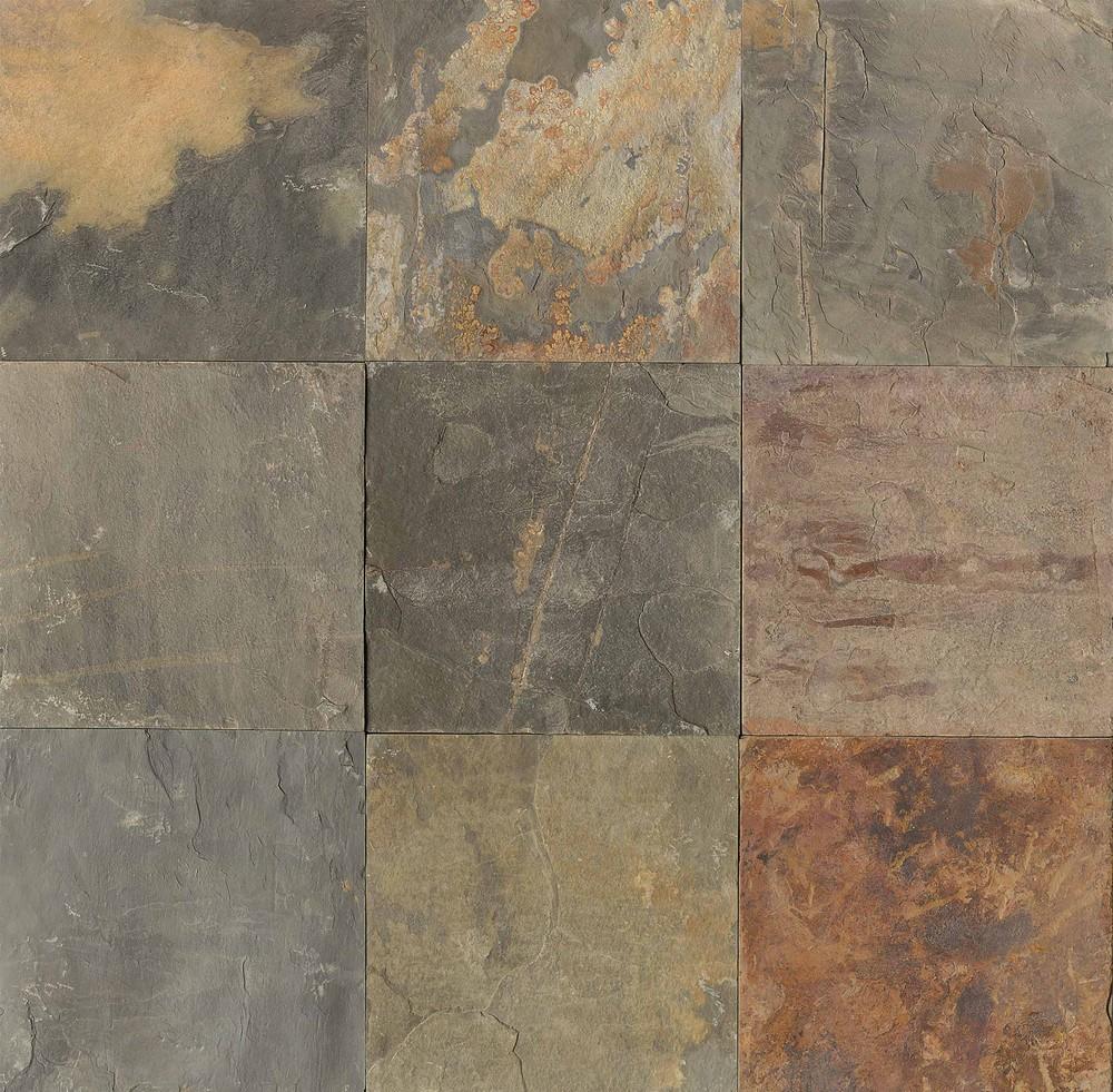 Butterscotch  Los Angeles Slate Flooring Tile 16x16