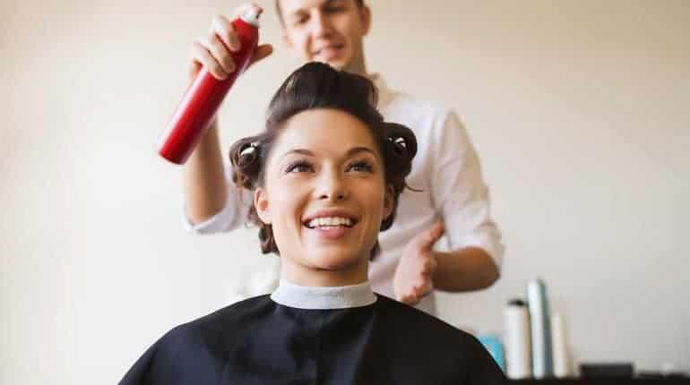Haarspray Friseur