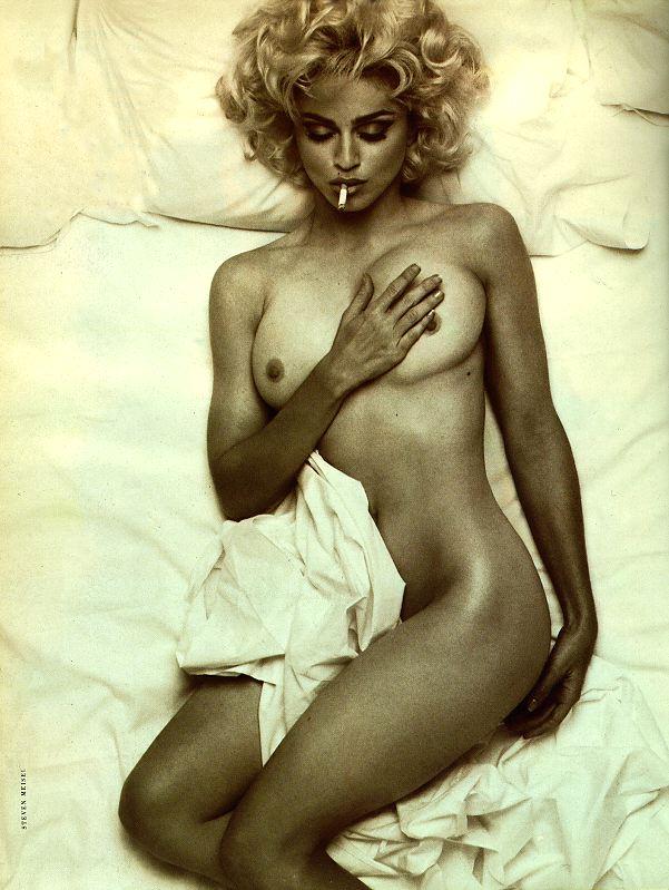 Madonna as Monroe