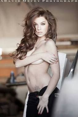 Glamour Model Magazine BOTD Stephanie Manescu