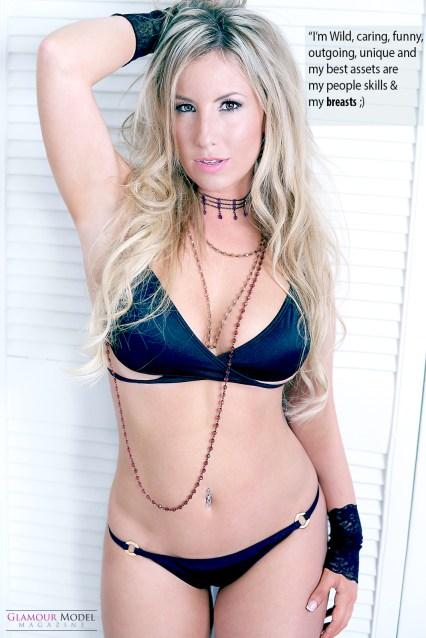 Glamour Model Magazine's own Shani Hollywood