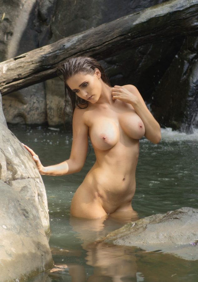 Skinny dipping with Maddy!
