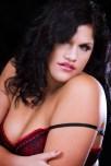 Allyson shot by Rick Ritz for Glamour Model Magazine