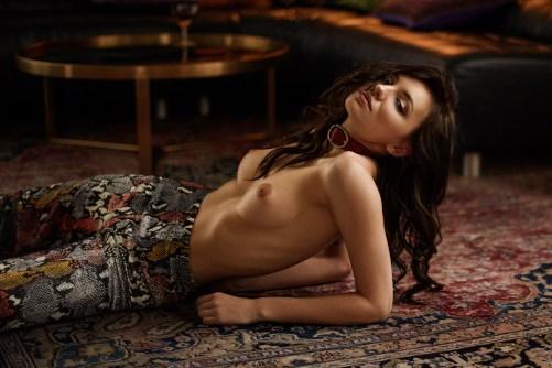 The gorgeous Ana-Andreea Tomouanu Shot by Sacha Leyendecker