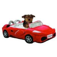 Furrari Sports Car Dog Bed Red | Novelty Dog Beds at ...