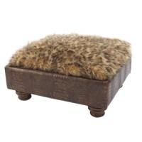 Hemingway Dog Bed Croc Brown | Luxury Dog Boutique at ...