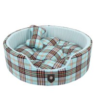 Classic Preppy Dog Bed Blue | Cute Beds for Small Dogs at ...