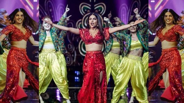 Priyanka Chopra's electrifying performance enthralls the audience at an Awards Show