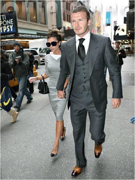 Victoria Beckham, David Beckham launch menswear collection in 2011