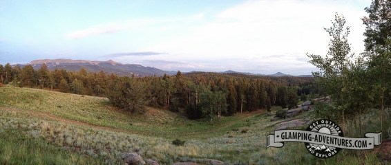 Open field near campsite, Mueller State Park, CO.