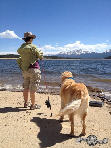Wondering if the wind will ever die down. Turquoise Lake, Leadville, CO