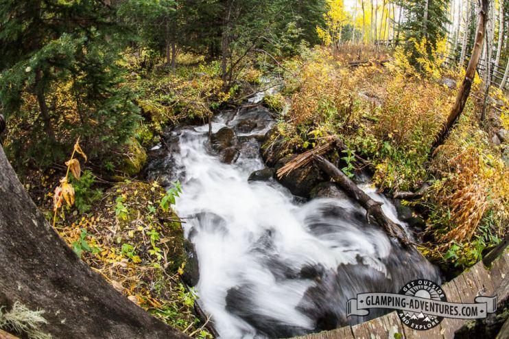 Stream along Iron Edge Trail.