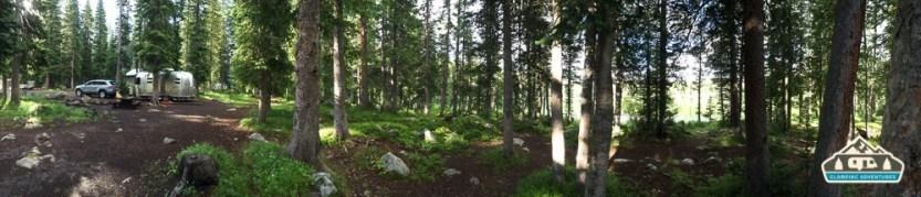 Our site. Cobbett Lake CG, Grand Mesa CO.