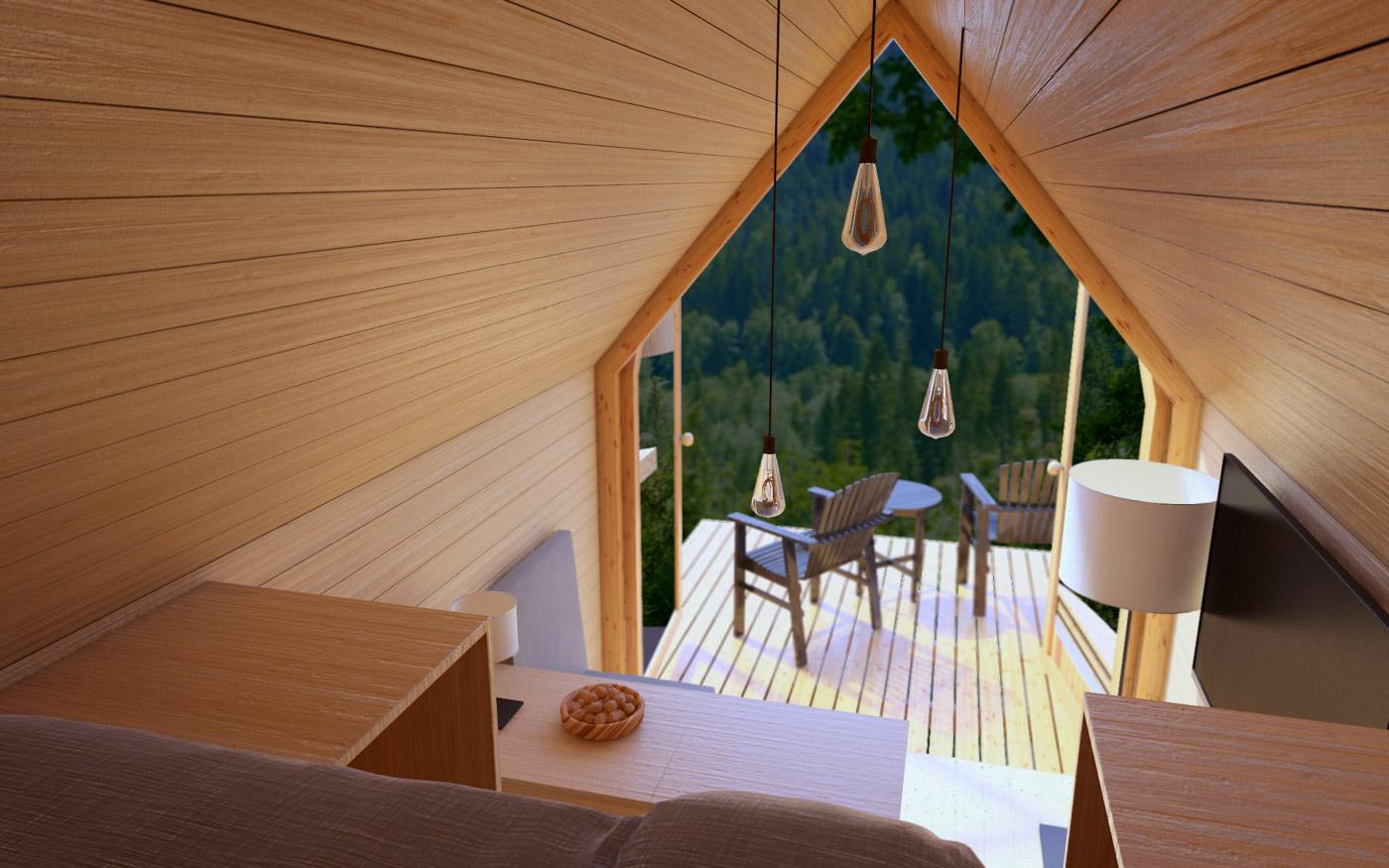 Lighting Cabin Outdoor