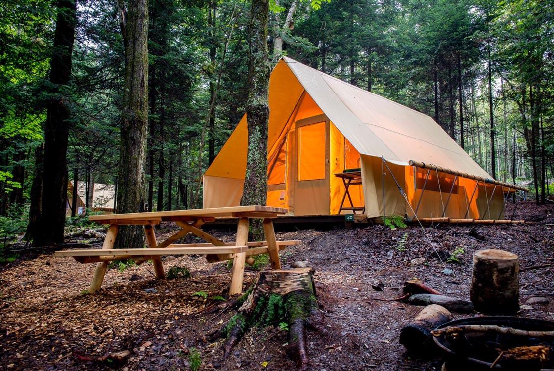 Laugh Jokuls Tent Mountain Camp