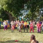 Festival drummers scene