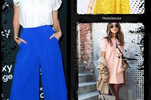 Colori moda estate 2017: blu, rosa e giallo