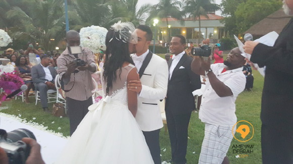 Photos: 10 Years After Wedding! Ghanian Actor Majid Michel Renews Vows With Wife, Virna