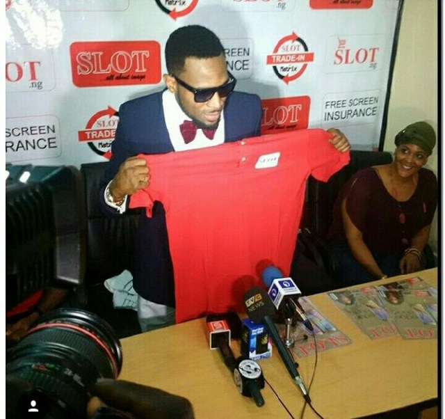 Dbanj at slot (1)