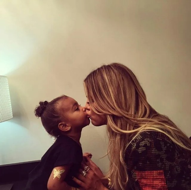 North and Khloe
