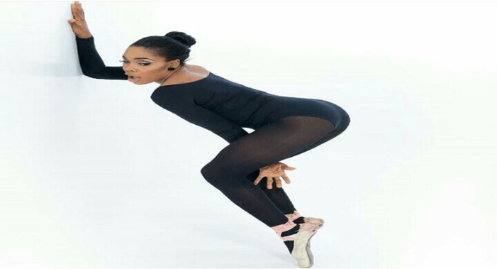 Dance Queen Kaffy Celebrates 100k Instagram Followers With Sexy Pose