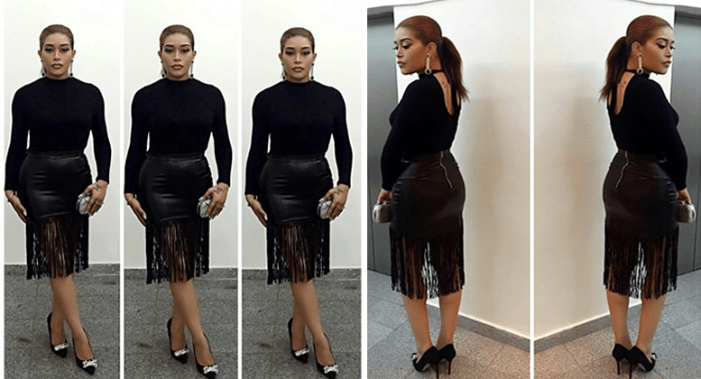 #AMVCA 2016 Nominee Cocktail: Adunni Ade Slays In All Black