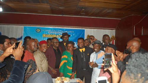 Oga Bello, Mama G, Others Storm AGN Lagos Inauguration Ceremony