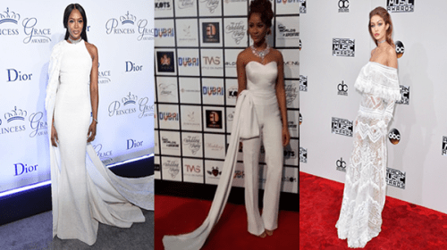 Be A Diva In All-White Outfit