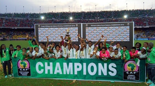 Super Falcons Wins Eight African Title After Beating Cameroon 1-0