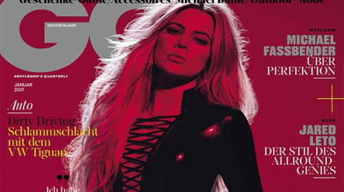 SEXY! Khloé Kardashian Graces The Cover Of GQ Germany