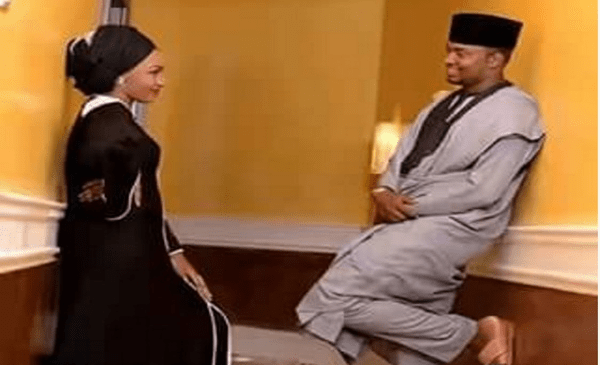 Official Invitation Letter To Zahra Buhari & Ahmed Indimi's Wedding -