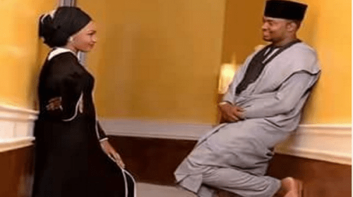 Official Invitation Letter To Zahra Buhari & Ahmed Indimi's Wedding