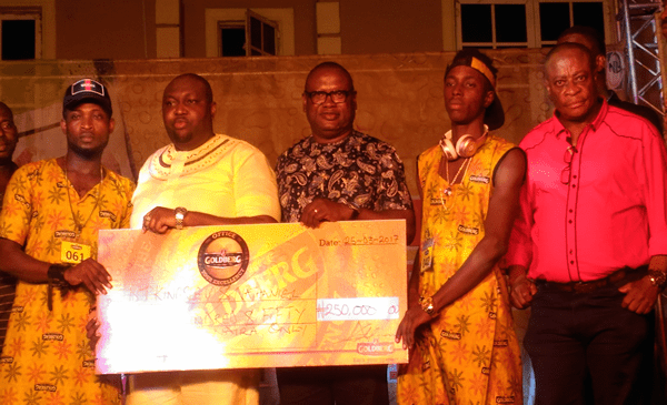 Goldberg Excellency Tour: DJ Kingsley And Nathaniel Emerge Winner Of DJ And Free Styling Competition In Benin City