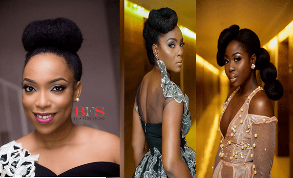 #AMVCA2017: Gorgeous Natural Hairstyles To Inspire You