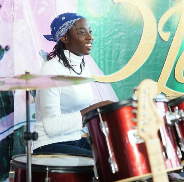 Osas the drummer girl