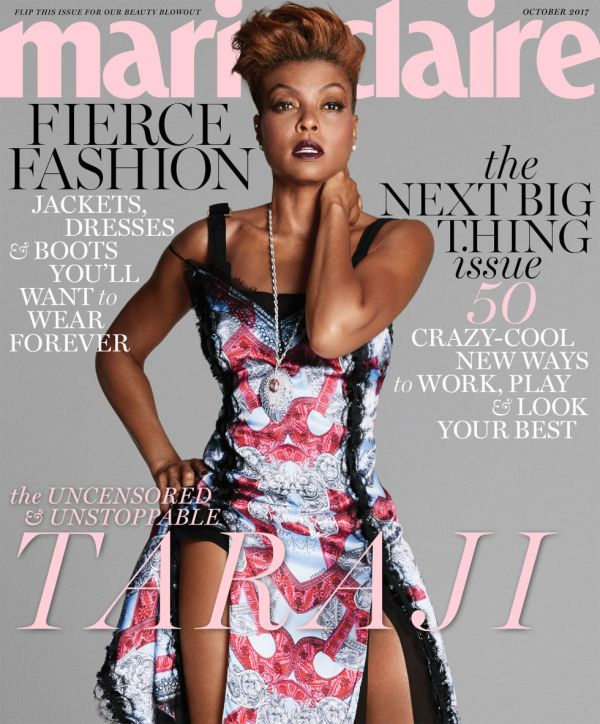 Marie Claire Magazine Cover October 2017