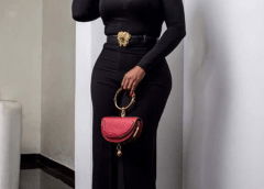 Actress Ini Edo Is Gorgeous In Black