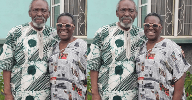 Olu Jacobs clocks 77