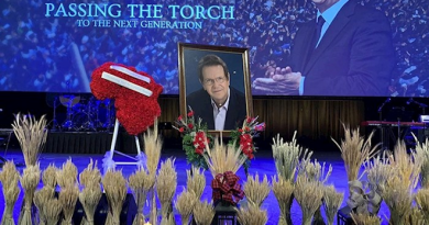 Reinhard Bonnke's Funeral