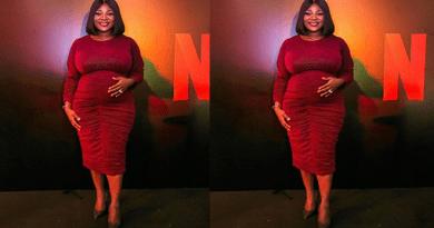 Pregnant Mercy Johnson