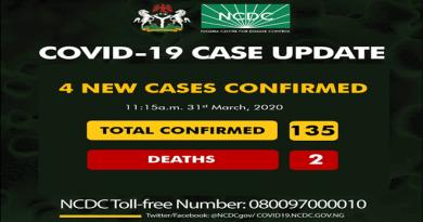 COVID-19 Case Update 135