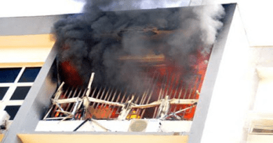 Fire Guts Part Of INEC