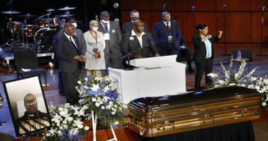 George Floyd's Memorial Service