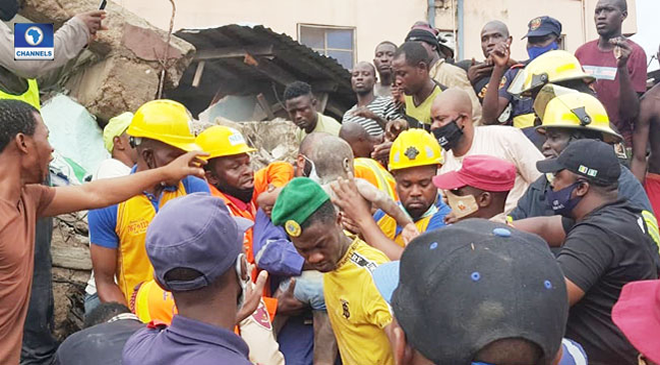 Lagos Building Collapse