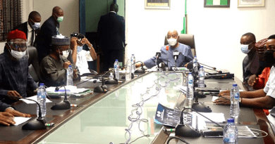 FG Meets With Resident Doctors