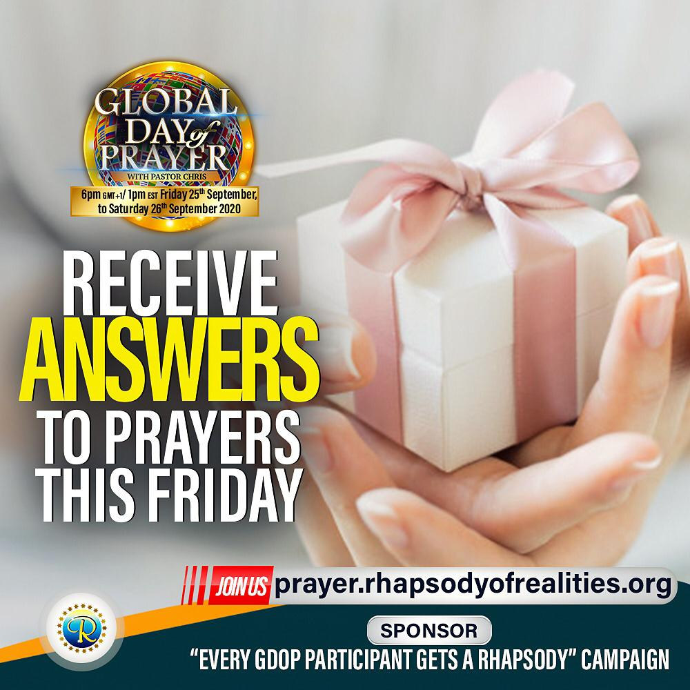 Global Day Of Prayer
