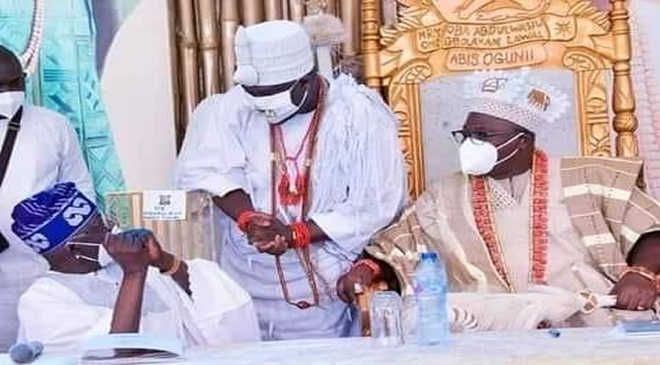 Ooni Of Ife Called Out