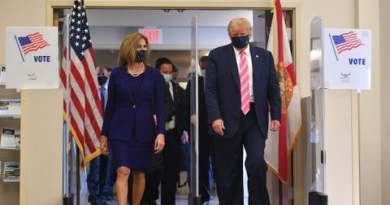 US Election: Trump Votes In Florida