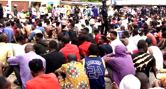 Suspected Looters Arrested